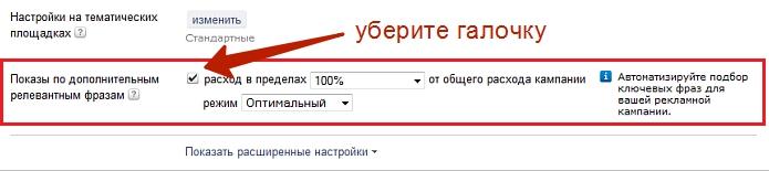 яндекс реклама директ не работает